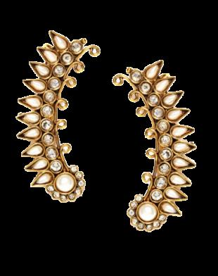 Gold Ear Cuffs - StyleCracker