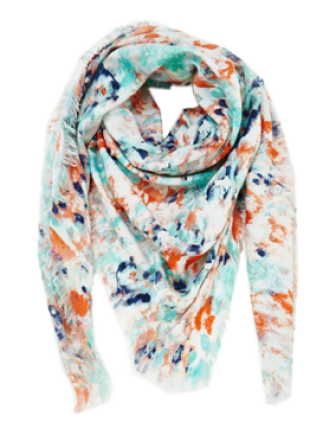 Colour Burst Scarf - StyleCracker