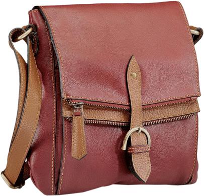 Leather Crossbody-PR539 - StyleCracker