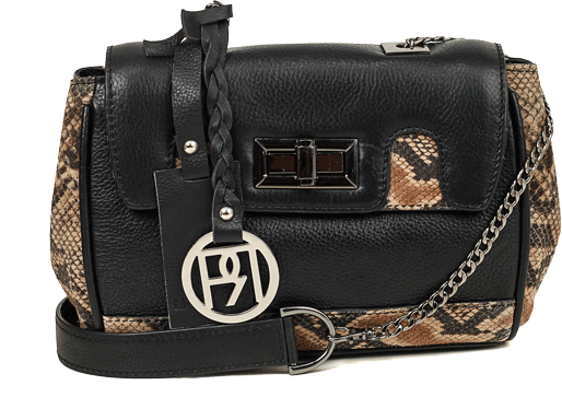 Leather Crossbody Bag-PR1018 - StyleCracker