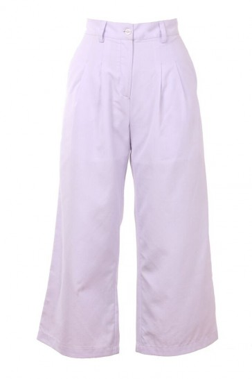 Pastel Monochrome Suit Pants - StyleCracker