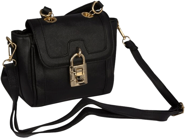 Black Lock Sling - StyleCracker