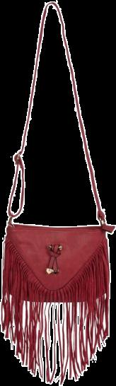 Red Bow Fringe Bag - StyleCracker