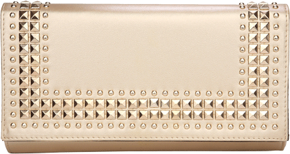 Rockstud Gold Sundowner Clutch - StyleCracker