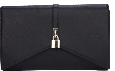 Black Goldilocks Clutch - StyleCracker