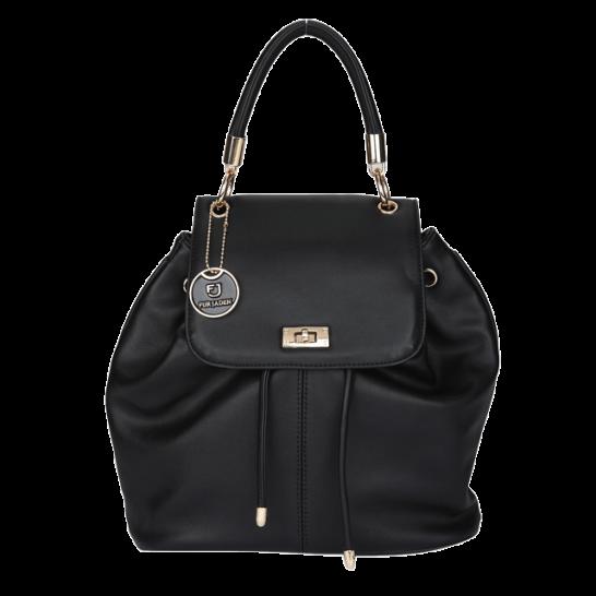 Black Flaptop Hoodie Backpack - StyleCracker
