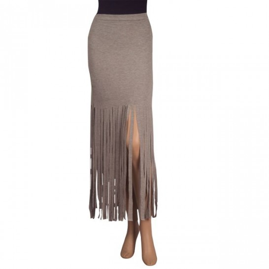 Fringe Skirt - StyleCracker