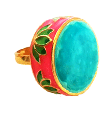 Lotus Ring Turquoise - StyleCracker