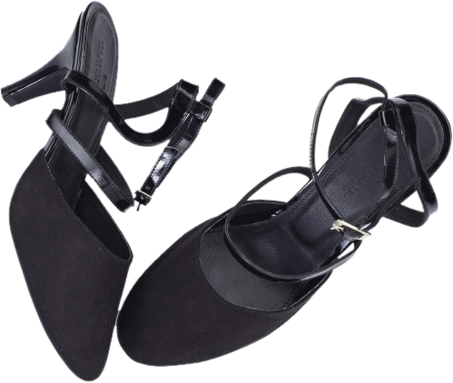 Black Mary Jane Heels - StyleCracker