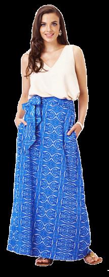 Kaleidoscope Maxi Skirt - StyleCracker