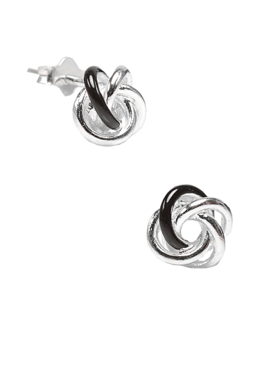 Twist Love Knot Stud Earring - StyleCracker