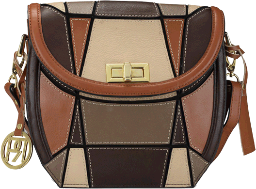 Leather Crossbody Bag - PR1043 - StyleCracker