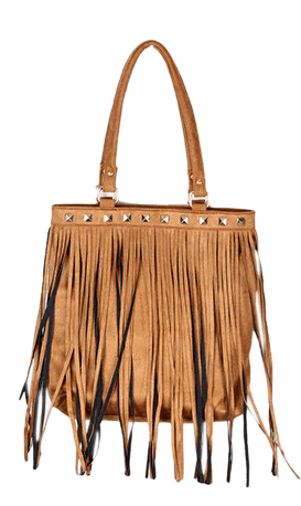 Tassel Tote With Studds - StyleCracker