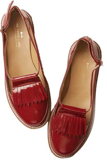 Oxblood Tassel Loafers - StyleCracker