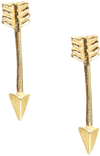 Cupid Arrow Stud Earring - StyleCracker