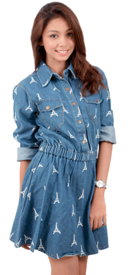 Denim Damsel Dress - StyleCracker