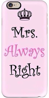 Mrs.Alwz Right Phone Cover - StyleCracker