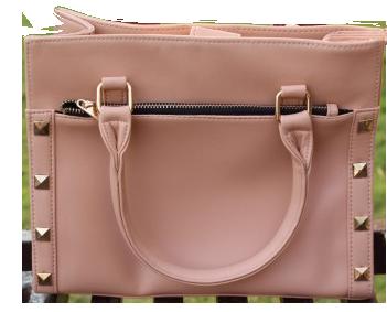 Nude Pink Handbag - StyleCracker