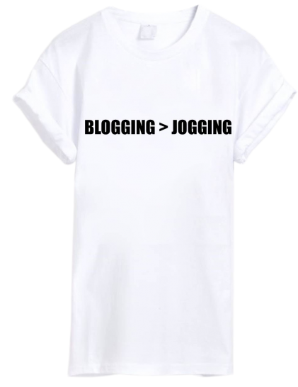 Bloggin>g jogging - StyleCracker