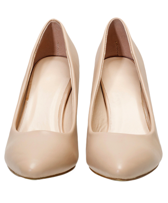 9 To 5 Pumps - Beige - StyleCracker
