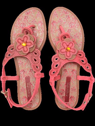 Grendha Is Estrela Cigana ii Inf Pink Beige - StyleCracker