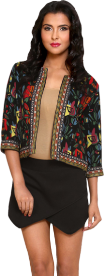 Lina Embroidered Jacket - StyleCracker