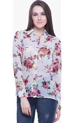 Floral Fling Shirt - StyleCracker