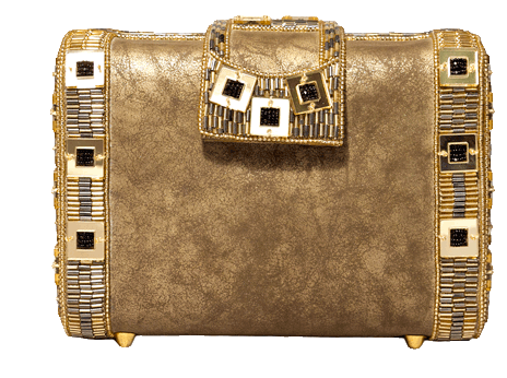 Beaded Gold Clutches - StyleCracker