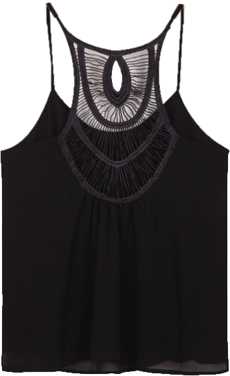 Black Hollow Vest - StyleCracker