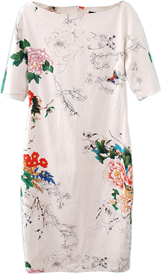 White Floral Dress - StyleCracker