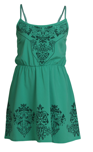 Poison Ivy Summer Dress - StyleCracker