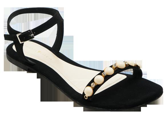 BLACK PEARL FLATS - StyleCracker