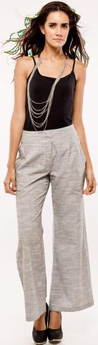 Grey Culottes - StyleCracker
