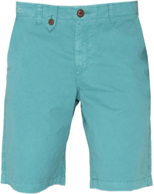 Aqua Green Shorts - StyleCracker