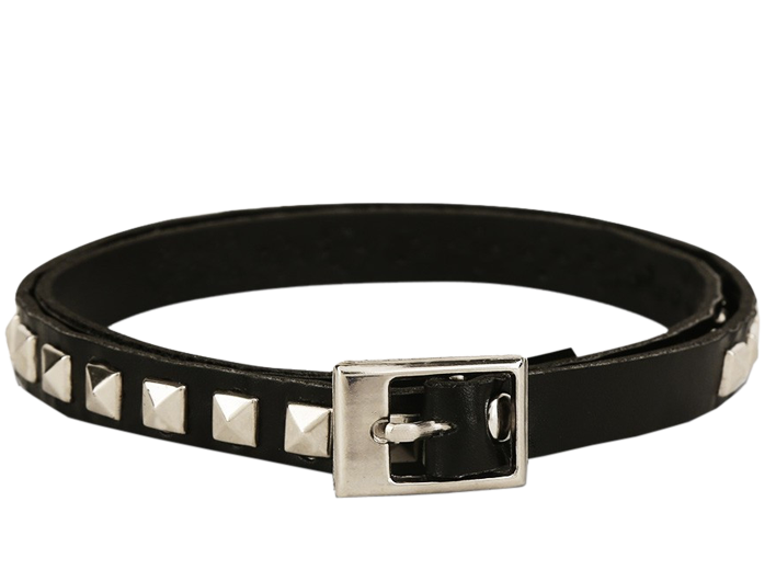 Stack of Punk Leather Bracelet - StyleCracker