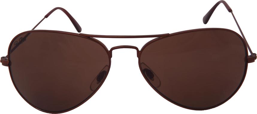 Rbee Eyeware  Aviator Sunglasses-Dark Brown - StyleCracker