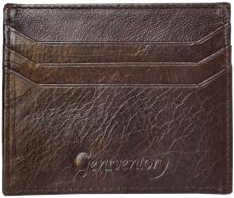 Chocolate Brown  Credit CardHolder - StyleCracker