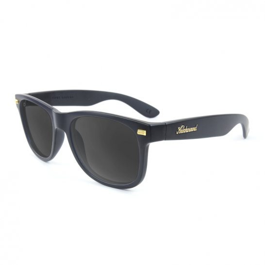 Matte Black POLARIZED Smoke Fort Knocks - StyleCracker