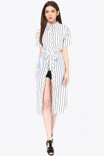 A Sight Worth Seeing Shirt Dress - StyleCracker