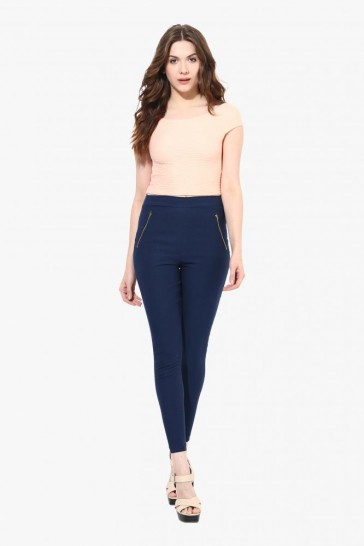 Zone Out High Waist Jeggings - StyleCracker