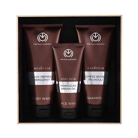 Mighty Trio- Set of Face Wash, Body Wash and Shampoo - StyleCracker