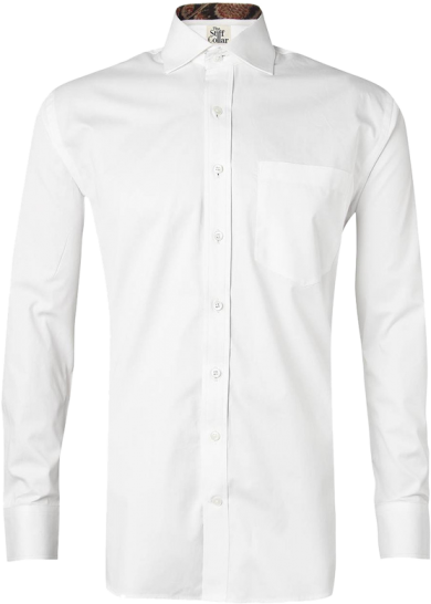 White Twill Kalamkari Cotton Shirt - StyleCracker