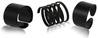 Midnight Black Matte Rings - StyleCracker