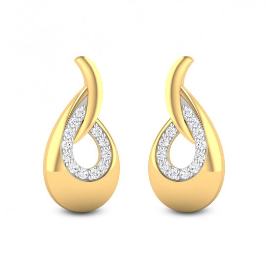 Ameya Diamond Stud Earrings DJER5797 - StyleCracker