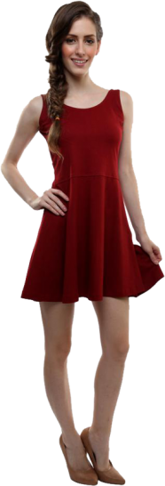 Whole Wide Whirl Skater Dress - StyleCracker