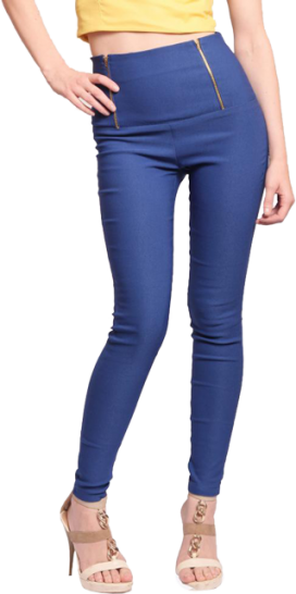 Retro High Waist Jeggings - StyleCracker