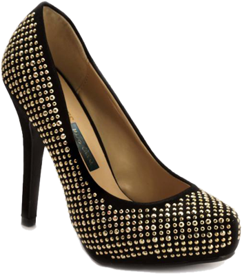 Pheddies Stud By Stud Embellished Stilettos - StyleCracker