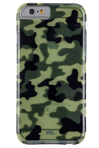 Case-Mate Urban Camo Bumper for Apple iPhone 6/6s - Clear - StyleCracker