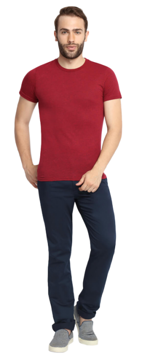 SUITLTD Navy Blue Extra Slim Fit Chino Pants - StyleCracker