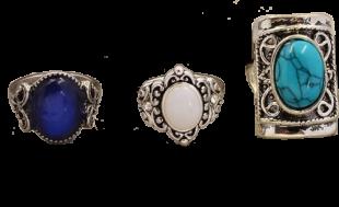 Shades Of Blue (set of 3) - StyleCracker
